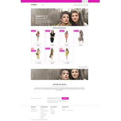 PinkWep thème gratuit prestashop 1.7