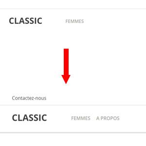 Comment connecter une page CMS à un lien dans le menu avec prestashop 1.7